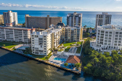 Highland Beach Condo For Sale: 3114 S Ocean Boulevard #205