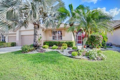Boynton Beach Single Family Home For Sale: 8828 Shoal Creek Lane