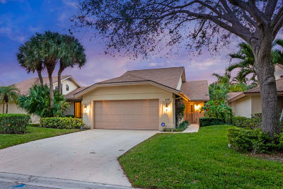 Jupiter Single Family Home For Sale: 438 River Edge Road