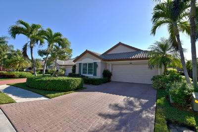 Palm Beach Gardens Single Family Home Contingent: 934 Augusta Pointe Drive