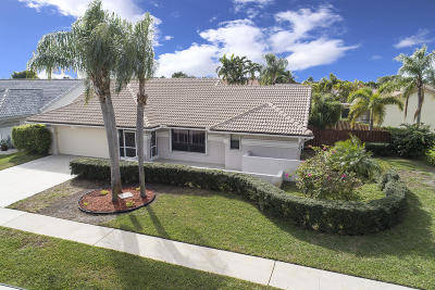 Boynton Beach Single Family Home For Sale: 9290 Laurel Green Drive