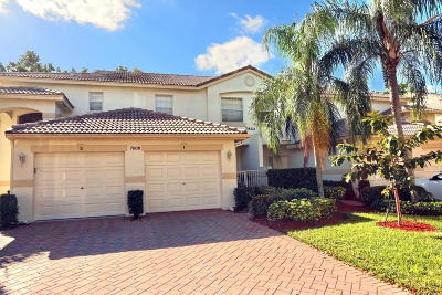 Boynton Beach Single Family Home For Sale: 7886 Laina Lane #1