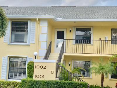 Jupiter Condo For Sale: 1002 Keystone Drive #G
