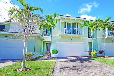 Palm Beach Gardens Townhouse For Sale: 3017 Princeton Lane