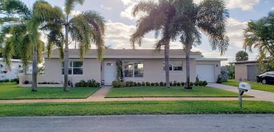 Lake Worth Single Family Home For Sale: 1505 Crest Drive