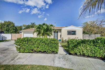 West Palm Beach Single Family Home For Sale: 5401 Canyon Trail