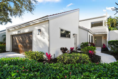 Jupiter Townhouse For Sale: 17029 Traverse Circle