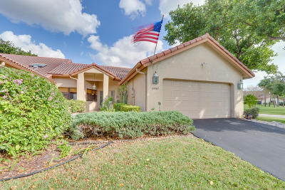 Boca Raton Single Family Home For Sale: 23363 Water Circle