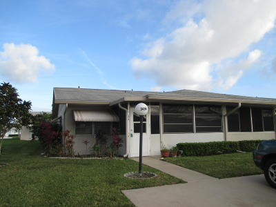 West Palm Beach Single Family Home For Sale: 3496 Rossi Court