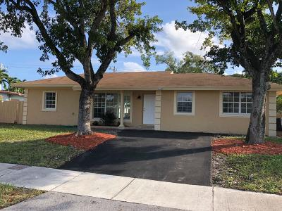 Pompano Beach Single Family Home For Sale: 1550 NE 42 Street