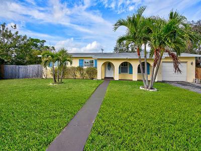 Boynton Beach Single Family Home For Sale: 325 W Ocean Avenue