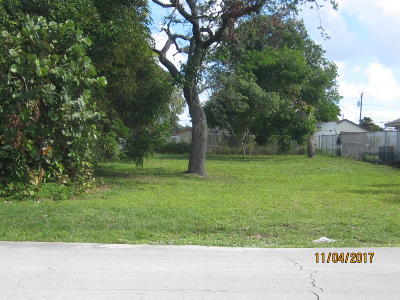 Delray Beach FL Residential Lots & Land For Sale: $99,000