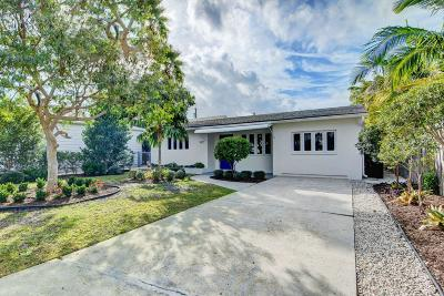 Lake Worth Single Family Home For Sale: 427 O Street