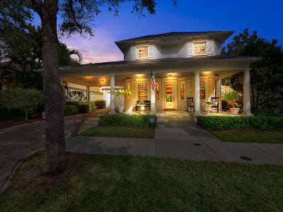 Jupiter Single Family Home For Sale: 136 Sweet Bay Circle