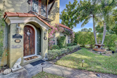 West Palm Beach Single Family Home For Sale: 529 27th Street