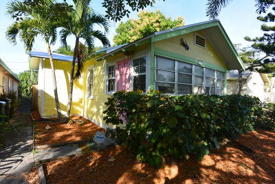Lake Worth Single Family Home For Sale: 123 F Street