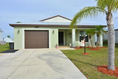 Fort Pierce Single Family Home For Sale: 14586 Dalia Avenue