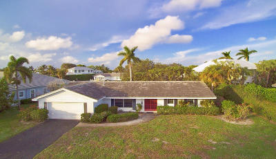North Palm Beach Single Family Home Contingent: 613 Shore Road