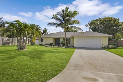 Stuart Single Family Home For Sale: 5068 SE Major Way