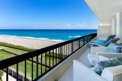 Palm Beach Condo For Sale: 2660 S Ocean Boulevard #702s