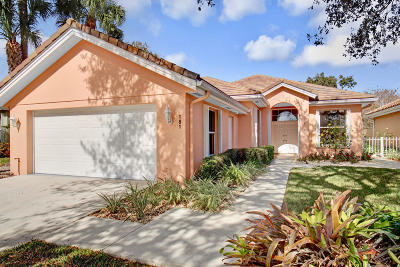 Jupiter Single Family Home For Sale: 181 S Hampton Drive