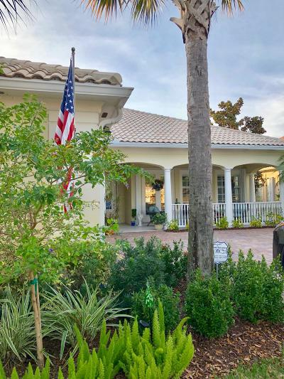 Palm Beach Gardens Single Family Home For Sale: 4605 Bontia Drive