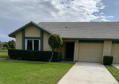 Palm City Single Family Home For Sale: 3373 SW Villa Place