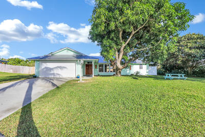 Hobe Sound Single Family Home For Sale: 8193 SE Cumberland Circle