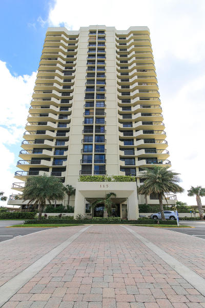 North Palm Beach Condo For Sale: 115 Lakeshore Drive #248