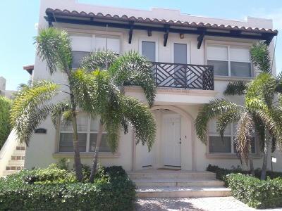 Palm Beach Rental For Rent: 252 Oleander Avenue #6
