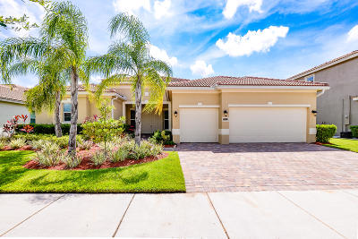 Port Saint Lucie Single Family Home For Sale: 11931 SW Aventino Drive