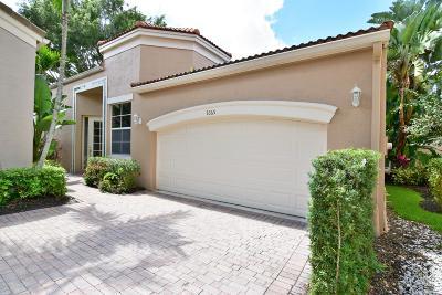 West Palm Beach Single Family Home For Sale: 7665 Estuary Court