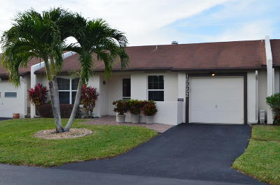 Delray Beach Single Family Home For Sale: 15552 Bottlebrush Circle