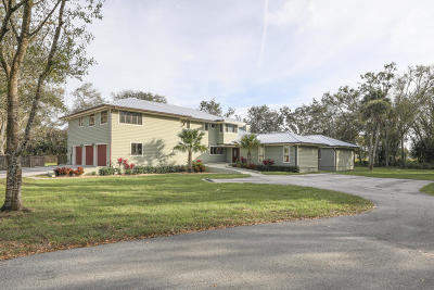 Fort Pierce Single Family Home For Sale: 2150 Sneed Road