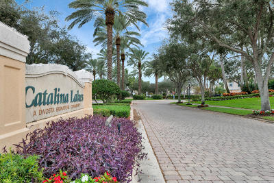 Palm Beach Gardens Townhouse For Sale: 312 Salinas Drive