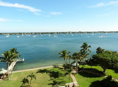 West Palm Beach Condo For Sale: 5200 Flagler Drive #804