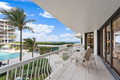 Palm Beach Condo For Sale: 2100 S Ocean Boulevard #102 S