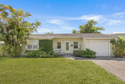West Palm Beach Single Family Home For Sale: 336 Russlyn Drive