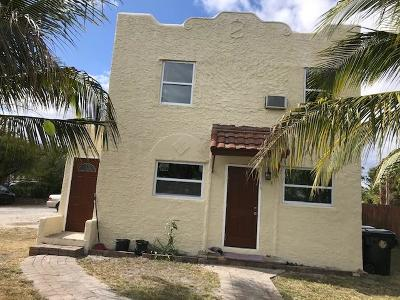 Lake Worth Multi Family Home For Sale: 621 S M Street #1