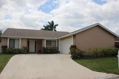 Boca Raton Single Family Home For Sale: 21838 Rainberry Park Circle