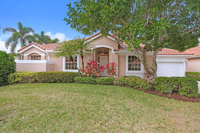 Palm Beach Gardens Single Family Home For Sale: 274 Eagleton Estates Boulevard