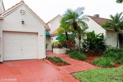 Boca Raton Townhouse For Sale: 6354 Las Flores Drive