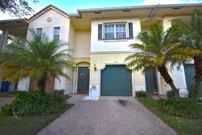 Royal Palm Beach Townhouse For Sale: 104 Via Emilia