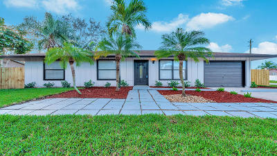 Lake Worth Single Family Home For Sale: 3390 Artesian Drive