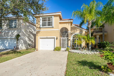 Lake Worth Single Family Home For Sale: 7835 Springfield Lake Drive