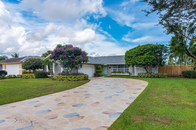 Palm Beach Gardens Single Family Home For Sale: 4081 Cedar Avenue