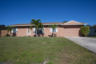 Port Saint Lucie FL Single Family Home Sold: $168,000