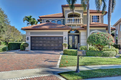 Delray Beach Single Family Home For Sale: 15832 Double Eagle Trail