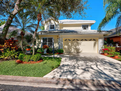 Palm Beach Gardens Single Family Home For Sale: 233 Canterbury Drive W