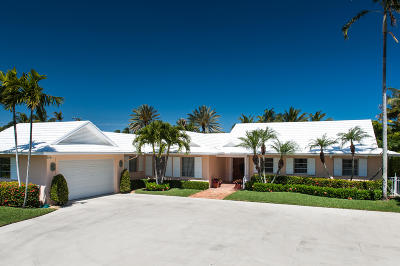 Palm Beach Single Family Home For Sale: 225 Tangier Avenue